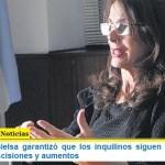 La ministra Bielsa garantizó que los inquilinos siguen protegidos de desalojos, rescisiones y aumentos