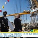 """Ministro Rossi: """"Estoy muy orgulloso de lo que están haciendo las Fuerzas Armadas ante esta pandemia"""""""