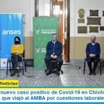 Se reportó un nuevo caso positivo de Covid-19 en Chivilcoy. Se trata de un joven de 30 que viajó al AMBA por cuestiones laborales