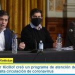 El Gobernador Kicillof creó un programa de atención de emergencias en zonas con alta circulación de coronavirus