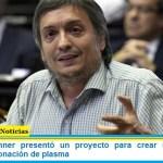 Máximo Kirchner presentó un proyecto para crear una campaña nacional de donación de plasma
