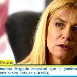 La Vicegobernadora Magario descartó que el gobierno bonaerense habilite el deporte al aire libre en el AMBA