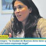 """Victoria Montenegro: """"la Ciudad de Buenos Aires tiene que avanzar en una investigación sobre espionaje ilegal"""""""