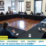 Santiago Cafiero encabezó una reunión para coordinar la implementación de «la nueva fase en el AMBA»