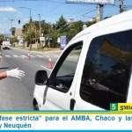 """Comenzó la """"fase estricta"""" para el AMBA, Chaco y las ciudades de General Roca y Neuquén"""