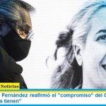 """El Presidente Fernández reafirmó el """"compromiso"""" del Gobierno """"con los que menos tienen"""""""