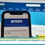 La Anses anunció que el IFE 3 comenzará a pagarse a partir del 10 de agosto