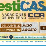 """""""FestiCasa"""", el éxito de vacaciones de invierno en Malvinas Argentinas"""