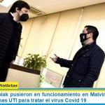 Nardini y Kreplak pusieron en funcionamiento en Malvinas Argentinas 30 nuevas camas UTI para tratar el virus Covid 19