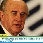 """Oscar Parrilli: """"se necesita una reforma judicial que termine con los sótanos de la democracia"""""""