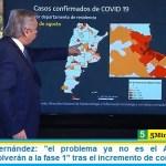 """Presidente Fernández: """"el problema ya no es el AMBA"""" varias provincias """"volverán a la fase 1"""" tras el incremento de contagios"""