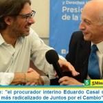 """Martín Doñate: """"el procurador interino Eduardo Casal se transformó en el militante más radicalizado de Juntos por el Cambio"""""""