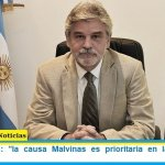 """Daniel Filmus: """"la causa Malvinas es prioritaria en la agenda del Gobierno"""""""