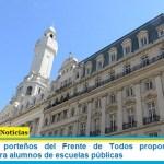 Legisladores porteños del Frente de Todos proponen comprar notebooks para alumnos de escuelas públicas