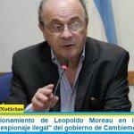 Fuerte cuestionamiento de Leopoldo Moreau en la sesión de Diputados al «espionaje ilegal» del gobierno de Cambiemos