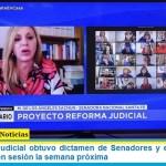 La Reforma Judicial obtuvo dictamen de Senadores y está lista para ser debatida en sesión la semana próxima