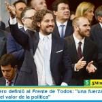 """Santiago Cafiero definió al Frente de Todos: """"somos una fuerza de militantes que revindica el valor de la política"""""""