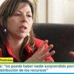 """Silvina Batakis: """"no puede haber nadie sorprendido porque se trate de equilibrar la distribución de los recursos"""""""