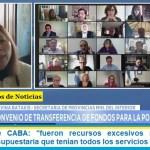 """Batakis sobre CABA: """"fueron recursos excesivos respecto a la ejecución presupuestaria que tenían todos los servicios transferidos"""""""