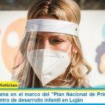 """La Primera Dama en el marco del """"Plan Nacional de Primera Infancia"""" recorrió un centro de desarrollo infantil en Luján"""