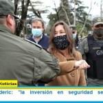 """Ministra Frederic: """"la inversión en seguridad se traduce en tranquilidad"""""""