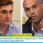 """Rodolfo Tailhade denunció a Dietrich e Iguacel por """"desvío de fondos"""" destinado a obras para seguridad vial"""