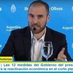Pospandemia | Las 12 medidas del Gobierno del presidente Alberto Fernández para la reactivación económica en el corto plazo