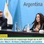 """Rossi y Caamaño denunciaron espionaje ilegal de la AFI """"M"""" a familiares del ARA San Juan: Macri, Arribas y Majdalani, acusados"""