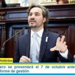 Santiago Cafiero se presentará el 7 de octubre ante el Senado y brindará su informe de gestión