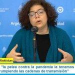 """Carla Vizzotti: """"la pelea contra la pandemia la tenemos que dar en el territorio interrumpiendo las cadenas de transmisión"""""""