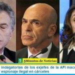 Piden ampliar indagatorias de los exjefes de la AFI macrista, Arribas y Majdalani, por espionaje ilegal en cárceles