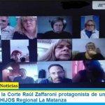 El ex Juez de la Corte Raúl Zaffaroni protagonista de un curso virtual de DD. HH. de HIJOS Regional La Matanza