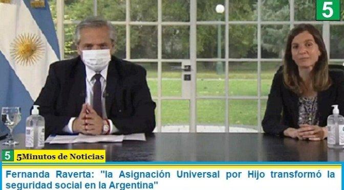 """Fernanda Raverta: """"la Asignación Universal por Hijo transformó la seguridad social en la Argentina"""""""