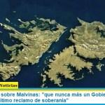 """Canciller Solá sobre Malvinas: """"que nunca más un Gobierno retroceda en nuestro legítimo reclamo de soberanía"""""""