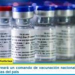 El Gobierno creará un comando de vacunación nacional que abarcará las 24 provincias del país