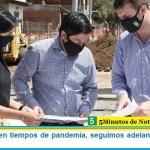 """Leo Nardini: """"en tiempos de pandemia, seguimos adelante con la obra pública"""""""