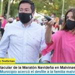 Cierre espectacular de la Maratón Navideña en Malvinas Argentinas: «Este año el Municipio acercó el desfile a la familia malvinense»