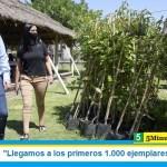 """Leo Nardini: """"Llegamos a los primeros 1.000 ejemplares plantados"""""""