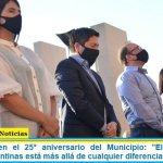 """Leo Nardini en el 25° aniversario del Municipio: """"El bienestar de Malvinas Argentinas está más allá de cualquier diferencia política"""""""