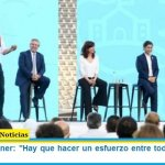 """Máximo Kirchner: """"Hay que hacer un esfuerzo entre todos, afuera las peleas"""""""