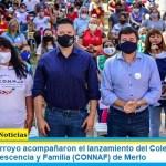 Menéndez y Arroyo acompañaron el lanzamiento del Colectivo Nacional de Niñez, Adolescencia y Familia (CONNAF) de Merlo
