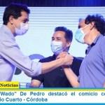"""El ministro """"Wado"""" De Pedro destacó el comicio celebrado este domingo en Río Cuarto – Córdoba"""