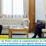 """Ministro Wado de Pedro sobre la coparticipación en CABA: """"estamos corrigiendo un error y haciendo lo que dijimos desde la campaña"""""""