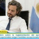 """Santiago Cafiero sobre la reglamentación del aporte solidario: """"momentos excepcionales exigen medidas excepcionales"""""""