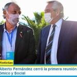 El presidente Alberto Fernández cerró la primera reunión de trabajo del Consejo Económico y Social