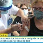 El ministro Trotta celebró el inicio de la campaña de vacunación a los docentes en las distintas provincias del país