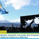 El Gobierno Argentino presentó una queja ante Uruguay por colaborar con los vuelos militares británicos a Malvinas