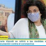 La ministra Carla Vizzotti se refirió a las medidas sanitarias y la campaña de vacunación contra el coronavirus