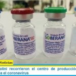 Vizzotti y Nicolini recorrieron el centro de producción de vacunas cubanas contra el coronavirus