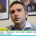 """Ministro Larroque: """"Hacemos una mejor gestión gobernando con pandemia que Macri y Vidal"""""""